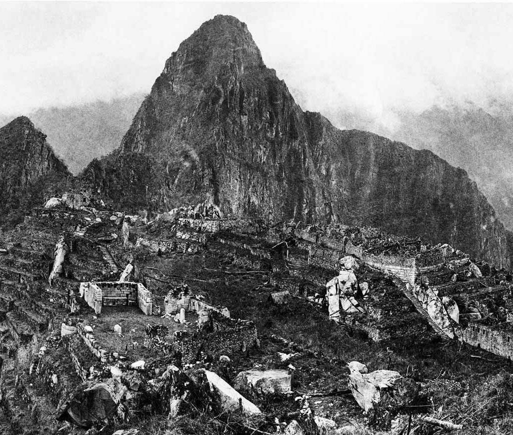 Machu Picchu in 1992 - History