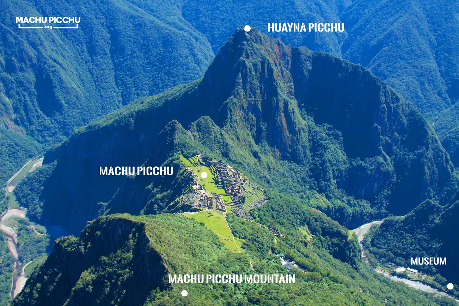 Machu Picchu Tickets Map