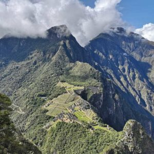 Hiking Huayna Picchu