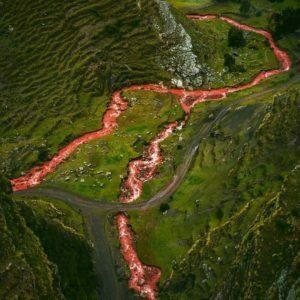 Red River in Cusco Peru
